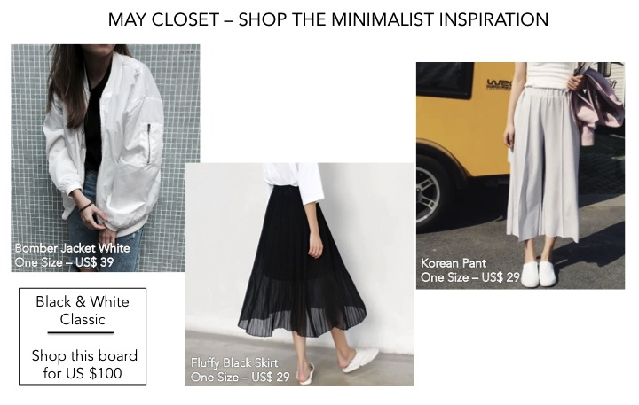 Black and White inspiration - Shop the board for US $140