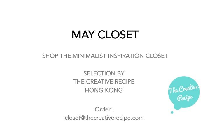 Shop the May Closet - Minimalist inspiration closet